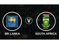 Sri Lanka v South Africa Tickets for ICC Champion Trophy 2017