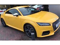 Audi TTS Yellow 66 plate