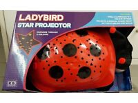 LADYBIRD STAR PROJECTOR - NEW IN BOX