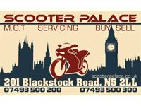 Lady receptionist needed for a motorbike showroom and repair centre