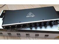 Behringer UMC404HD 4X4 Audio Interface MIDI/USB 24-Bit/192Khz