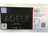 4 X Adele Tickets - Face Value - Wednesday 28 June