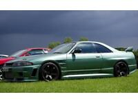 Nissan Skyline R33 gtst with extensive modifications