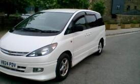 2000 Toyota Estima 7 seater day van , double bed , great condition px welcome