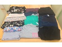 Summer maternity clothes bundle (16 items) to fit size 14/16