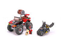 CLASSIC/COLLECTIBLE LEGO 7886 BATMAN: The Batcycle: Harley Quinn's Hammer Truck (UNBOXED PERFECT)