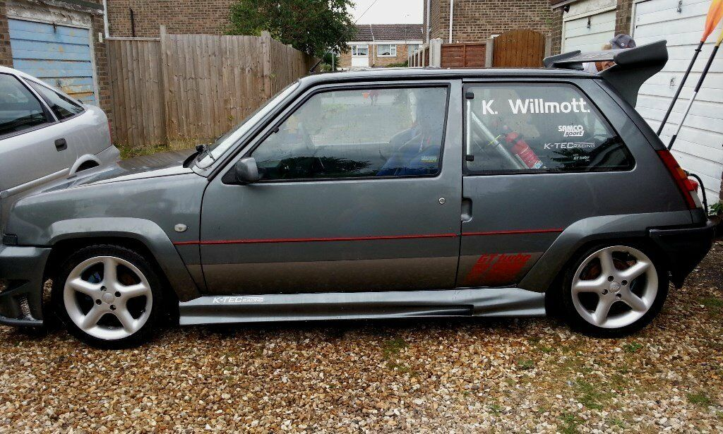 renault 5 gt turbo 2 39 sold 39 thanks for all the enquiries in wimborne dorset gumtree. Black Bedroom Furniture Sets. Home Design Ideas