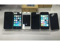 Apple iPhone 4S 16GB unlocked, excellent condition white and black colour