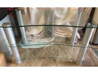 Glass TV stand for sale £20 ONO