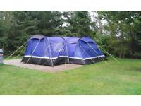 Hi gear kalahari 10 tent, porch and footprint.