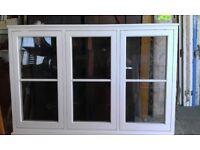 Elegant wooden window