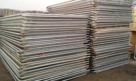 🚧 50 X Used Heras Security Fence Panels > Site Security