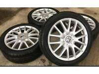 VW GT wheels