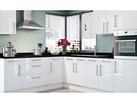Kitchen Package (complete) - White gloss - £895