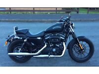 Harley 883 iron. Ultra low miles in immaculate condition with extras.