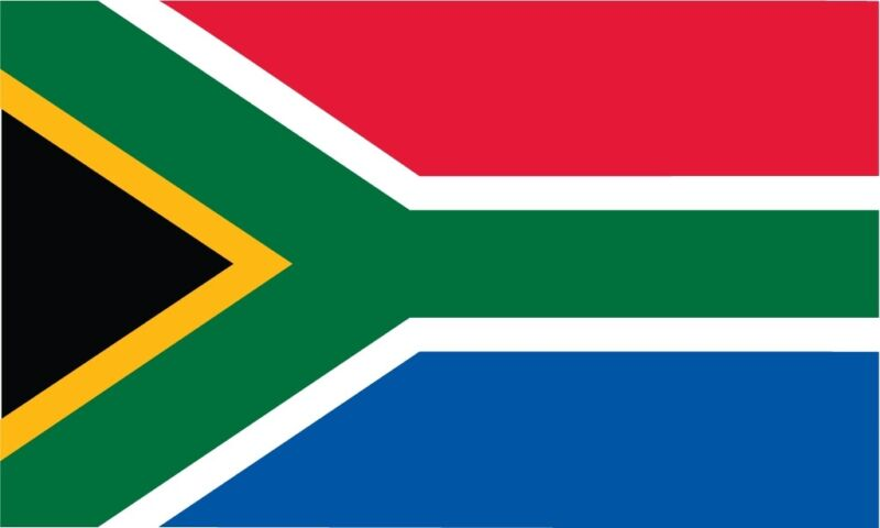OUTBOUND Flag Of South Africa 5x3