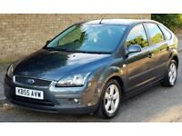 FORD FOCUS AUTOMATIC 1.6 PETROL 2005 55REG LOW MILES NEW MOT NEW SERVICE 3 MONTHS WARRANTY