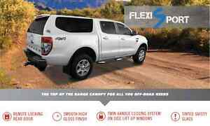 FLEXIGLASS FLEXISPORT CANOPY FOR DUAL CAB UTE Wingfield Port Adelaide Area Preview