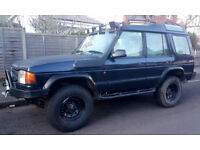 Offroad/overland prepared Land Rover Discovery