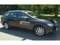 Leeds taxi plated private hire SEAT LEON 1.6 TDI SE