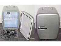 14 Litre Portable fridge with in car & house power cords. Cold & Hot setting! RRP £69
