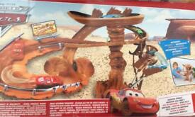 Disney Pixar, The world of Cars. Radiator Springs Mountain Challenge ( never been opened)