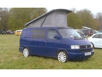 VW T4 4 berth camper 2.5 TDI