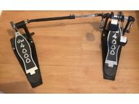 DW4000 bass drum pedal (double)