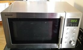 SHARP Microwave Oven 23L R28STM - Excellent Condition