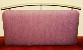 Headboard for Single Bed (Mauve)