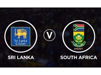 **** Sri Lanka (SL) v South Africa (SA) **** Sat 3rd June @ Oval - ICC Trophy