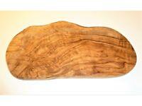 Natural Olive Wood Serving Board