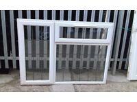 UPVC Square leaded window
