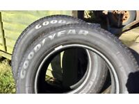 2 Goodyear tyres 175/65/14