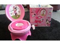 Tomy Disney Minnie Mouse potty 3in1
