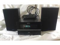 Sony DAB CD compact stereo hifi.