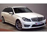 MERCEDES-BENZ C 220 Sport CDI Auto BlueEfficiency Estate Stunning High (white) 2011