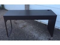 Black Micke Desk - £35 FREE DELIVERY IN EDIN