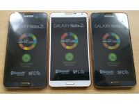 Samsung Galaxy Note 3, 32GB, Mint condition, Unlocked to all Network