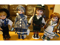 Lovely Christmas Present - 4 beautiful dolls