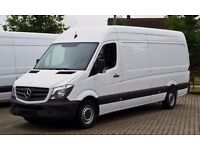 van and man Hire £15P/H Reliable Removals Services