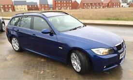 BMW M Sport 320i automatic gearbox 3 series e91