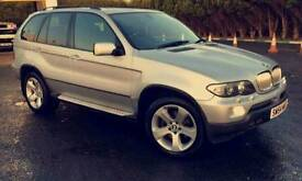 2004/54 bmw x5 auto, diesel, low miles for year, may px