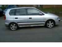 Mitsubishi SPACE STAR Equippe Petrol Hatchback Manual Silver 2005 1584cc 74000 Miles Air Condition