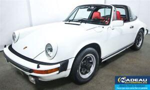 1976 Porsche 911 TARGA  S  VÉHICULE DE COLLECTION
