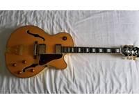 Epiphone Emperor Joe Pass hollow body jazz guitar with hardcase