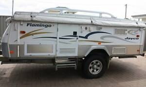 2008 Jayco Outback Flamingo Camper Trailer with Annexe Safety Bay Rockingham Area Preview