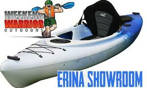 Sit in Kayak Canoe Single Style 3m Fishing Sea Ocean ALL ROUNDER Erina Gosford Area Preview