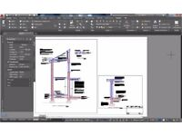 Architectural Plans for Planning and Building Control Applications