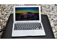 "Apple Macbook Air 11"" with warranty FinalCutProX/Compressor/Motion/DaVinci i7@ 1.7Ghz 8GB 500GB SSD"